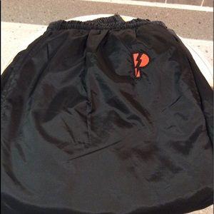 Men's sweat pants black size xxl
